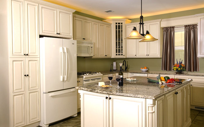Mdesign installs in stock kitchen cabinets in tampa for Stock cabinets
